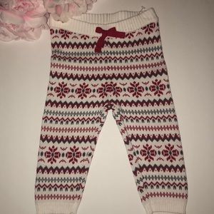 ❄️Baby sweater pants size 6-12months